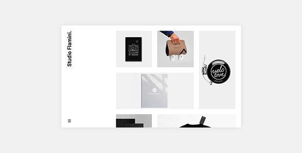 Flamini - Studio/Agency Portfolio WordPress Theme            TFx Roderick Abe