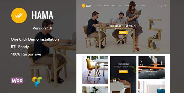 Hama - Store WooCommerce WordPress Theme            TFx Denholm Sequoyah