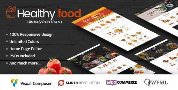 HealthyFood – Multipurpose WooCommerce Theme            TFx Domitian Ryota