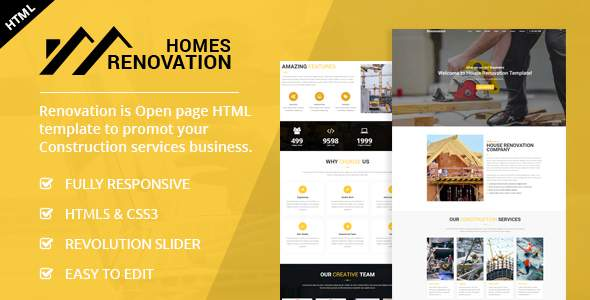 Homes Renovation - Landing Page            TFx Sullivan Vardan