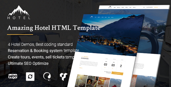 Hotel HTML Template | HotelWP            TFx Alpha Erick