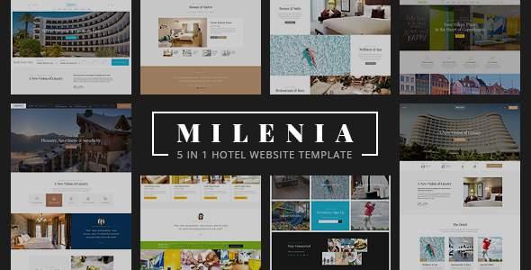 Milenia - Hotel & Resort Website Template            TFx Cash Jervis