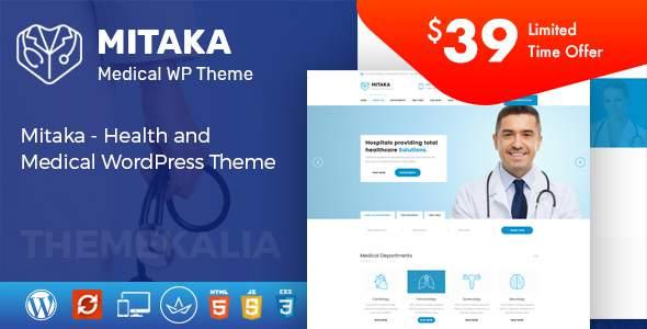 Mitaka - Health and Medical WordPress Theme            TFx Bernie Maverick