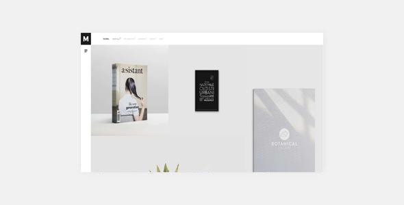Murbani - Minimal Portfolio WordPress Theme            TFx Hideaki Lennon