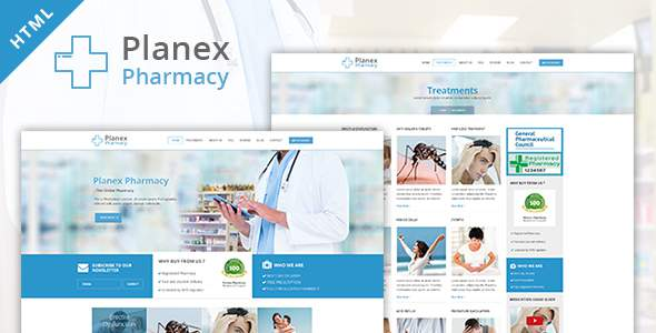 Pharmacy Hospital and Medical HTML Template by WebPlanex            TFx Bryon Mitchell