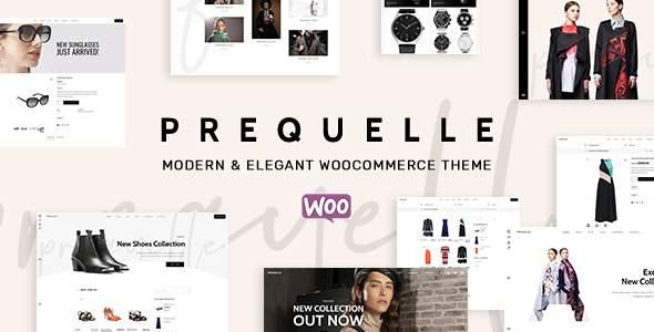 Prequelle - Elegant and Modern WooCommerce Theme            TFx Saburo Rafe