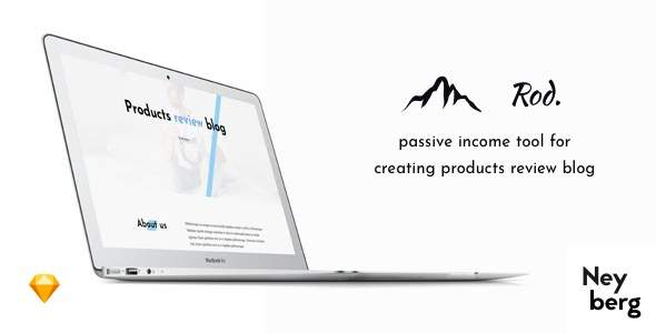 Rod - Niche, In-depth Products Review Blog, Affiliate Website Sketch Template            TFx Lacy Lamar