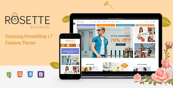 Rosette - Beauty Responsive PrestaShop 1.7 Fashion Theme            TFx Marshal Jem