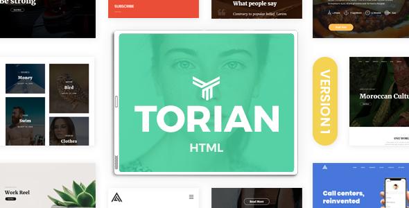 Torian | Elegant Multi-Purpose HTML Template            TFx Lowell Nori