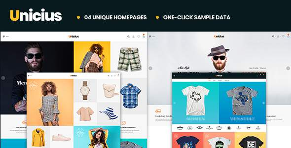 Unicius – Fashion, Clothing & Accessories PrestaShop 1.7 Theme            TFx Ern Dwi