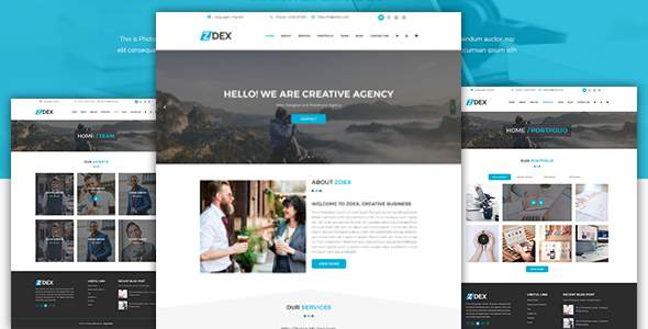 Zdex Multipurpose Business and Agency Template            TFx Tecumseh Braden