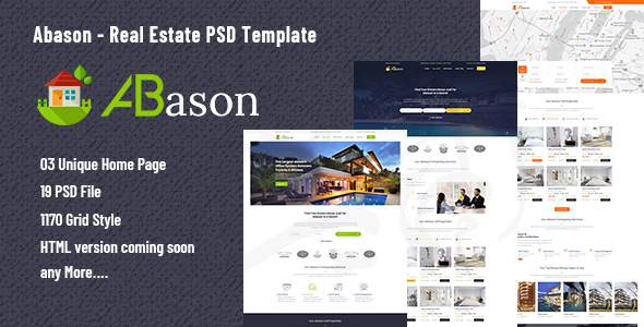 Abason – Real Estate PSD Template            TFx Hoyt Fletcher