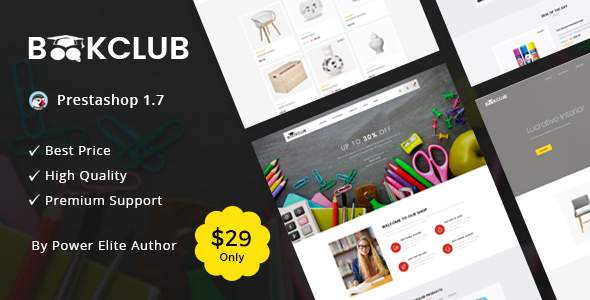 Book Club – Responsive Prestashop 1.7 Theme            TFx Kenneth Jonathon