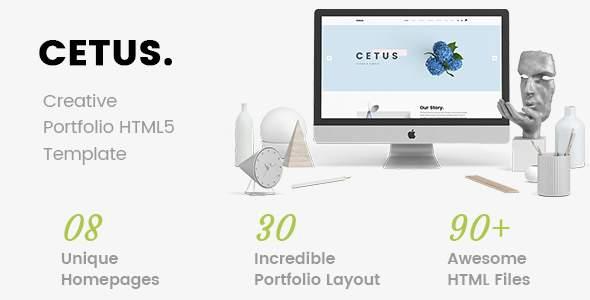 CETUS - Creative Portfolio HTML5 Template            TFx Maitland Nate