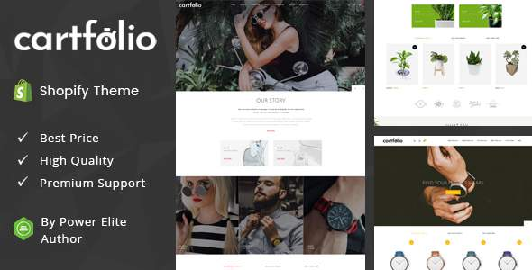 Cartfolio - Sectioned Multipurpose Shopify Theme            TFx Walton Odin