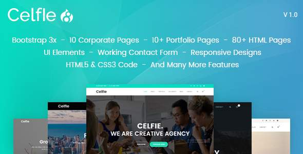 Celfie – Bootstrap 3x Multi-Purpose Drupal 8 Theme            TFx Kendall Gaylord