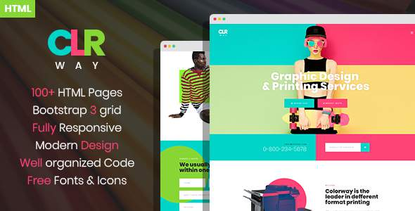 ColorWay – Printing Design Service HTML Template            TFx Rex Carter