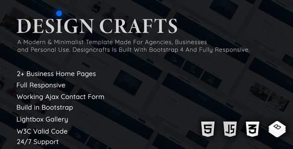 Designcrafts – Corporate Business Template            TFx Archibald Robin