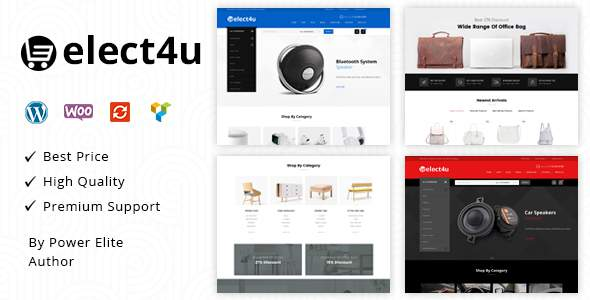 Elect4u – Multipurpose WooCommerce Theme            TFx September Kiaran