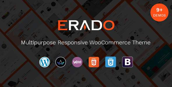 Erado - eCommerce WordPress Theme            TFx Xerxes Arnold