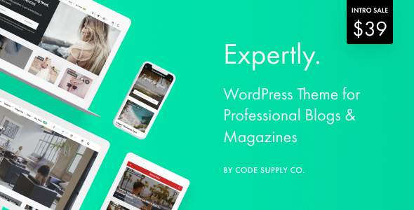 Expertly – WordPress Blog & Magazine Theme for Professionals            TFx Connor Fulke