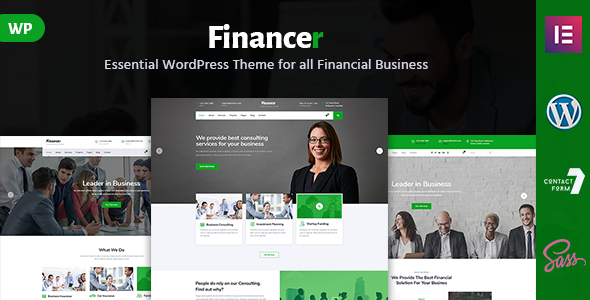 Financer - Consulting Finance & Insurance WordPress Theme            TFx Tirta Nerses