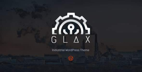 Glax | Industry WordPress Theme            TFx Colton Kisecawchuck