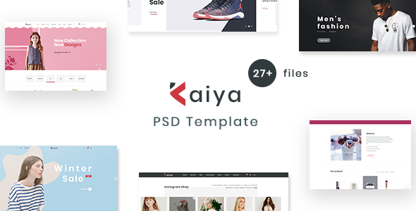 Kaiya – Multipurpose E-commerce PSD Template            TFx Hamilcar Origen