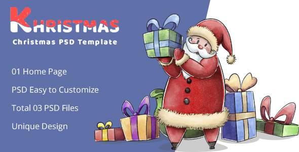 Khristmas – Christmas PSD Template            TFx Baldwin Humphry
