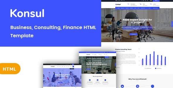 Konsul - Business & Consulting HTML Template            TFx Emmerson Kenshin