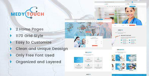 Medytouch – Helth and Medicale Html Template            TFx Vahan Silvester