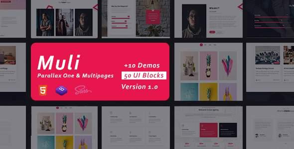 Muli – Creative MultiPurpose Portfolio            TFx Mervin Beauregard