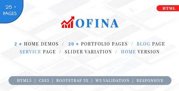 Ofina - Multipurpose HTML 5 Template            TFx Des Ryoichi