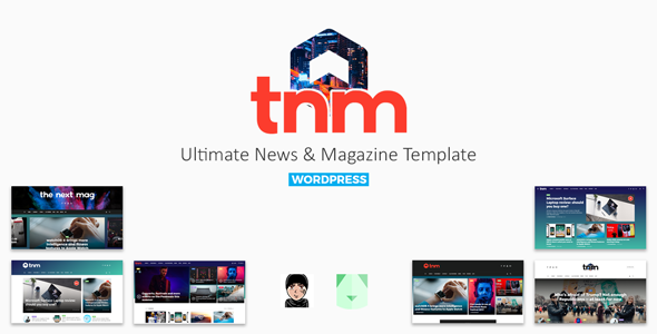 The Next Mag – Ultimate Magazine WordPress Theme            TFx Braiden Bennie