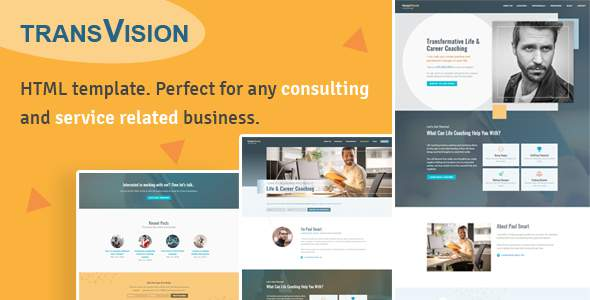 TransVision - Life Coaching & Consulting Template            TFx Garey Davin