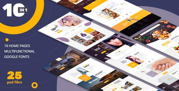 AMBER | 10 n 1| Universal PSD-Template            TFx Karl Monty