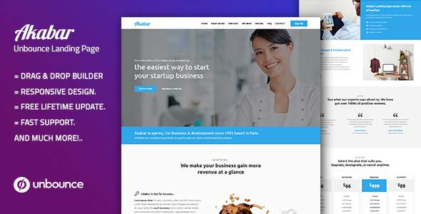 Akabar — Multi-Purpose Template with Unbounce Page Builder            TFx Aylmer Matthew