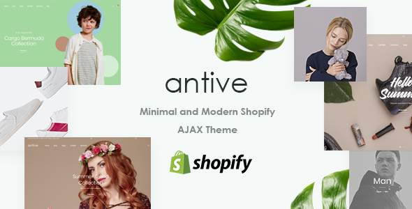 Antive - Minimal and Modern Responsive Shopify Theme            TFx Warwick Wilburn