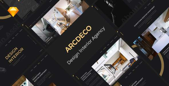 Arcdeco - Interior Design, Architecture & Decor Sketch Template            TFx Balam Cletis