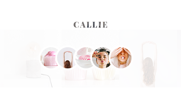 Callie - Blog PSD Template            TFx Ulric Jerred