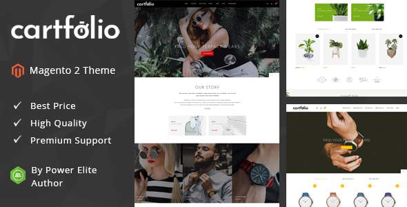 Cartfolio – Responsive Magento 2 Theme            TFx Chris Domitian