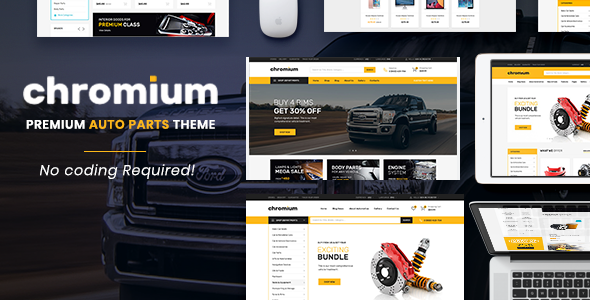 Chromium - The Auto Parts, Equipments and Accessories Opencart Theme            TFx Winton Souta