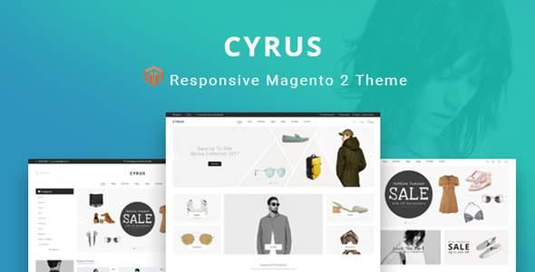Cyrus - Magento 2 Responsive Theme            TFx Yuki Deryck