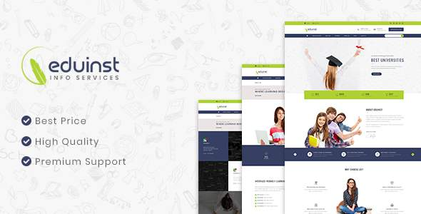 EduInst | Multipurpose Educational PSD Template            TFx Lesley Monte
