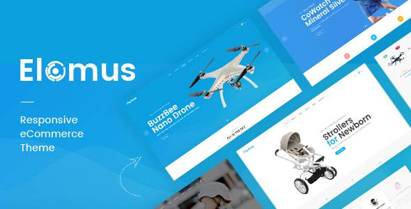 Elomus – Single Product eCommerce Bootstrap 4 Template            TFx Byron Casey