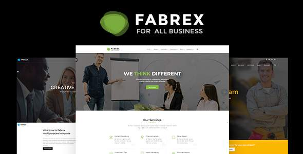 Fabrex - Business Multipurpose and Corporate Template            TFx Kevyn Ashton
