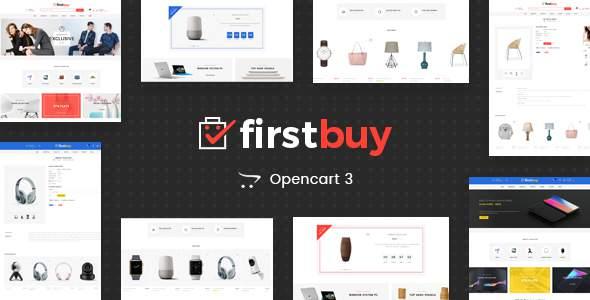 FirstBuy - Multipurpose OpenCart 3 Theme            TFx Jasper Zoroaster