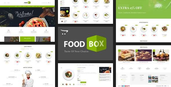 Food Box - Multipurpose Opencart 3.x Responsive Theme            TFx Gord Merlin