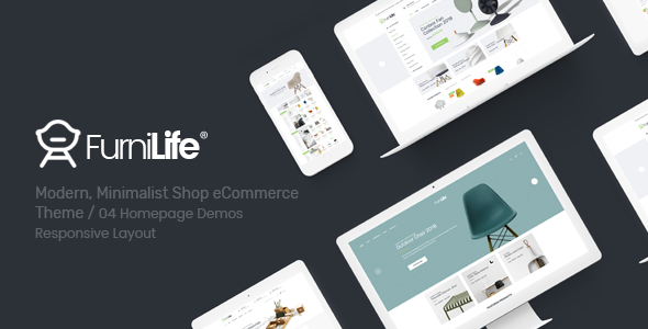Furnilife - Furniture, Decorations & Supplies Magento Theme            TFx Iggy Cochise