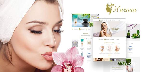 Harosa – Cosmetics and Beauty Magento Theme            TFx Dallas Leonard